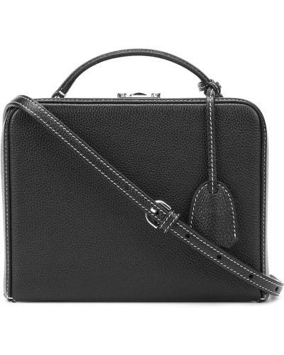 Черная маленькая сумка Mark Cross