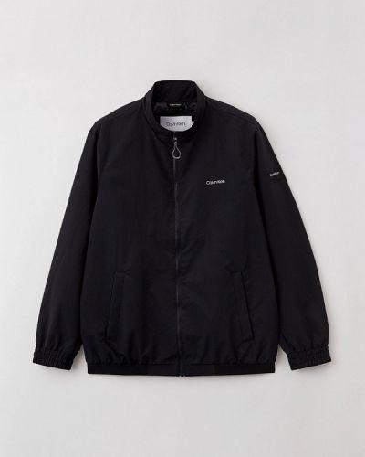 Черная ветровка осенняя Calvin Klein