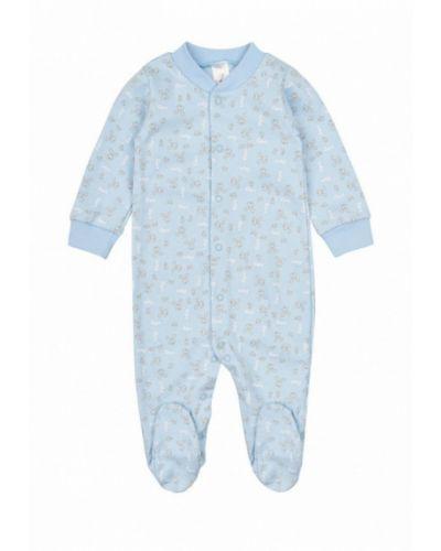 Комбинезон текстильный голубой фламинго текстиль