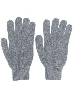 Wyposażone wełniany rękawiczki z mankietami z haftem Paul Smith