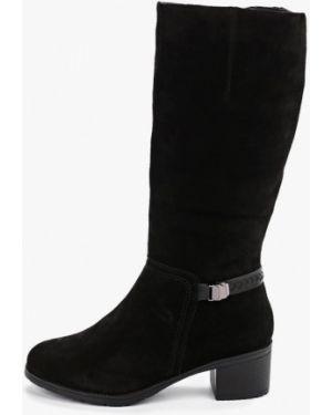 Ботинки на каблуке черные осенние Madella