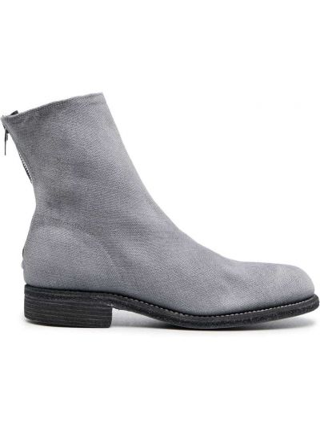 Ankle boots skorzane Guidi