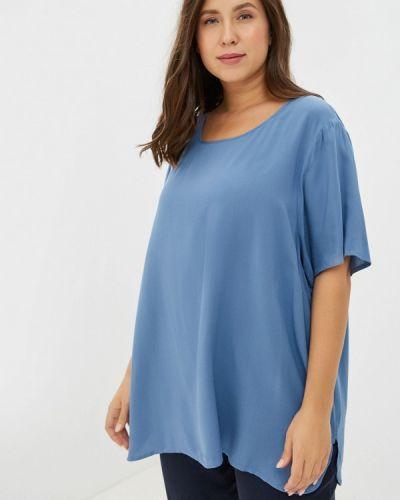 Блузка синяя Rosa Thea