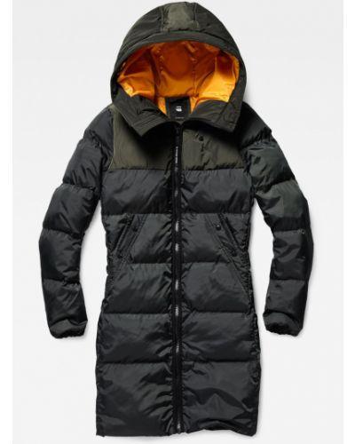 Куртка с капюшоном с карманами утепленная G-star Raw