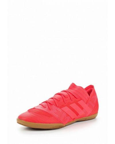 Красные бутсы зальные Adidas