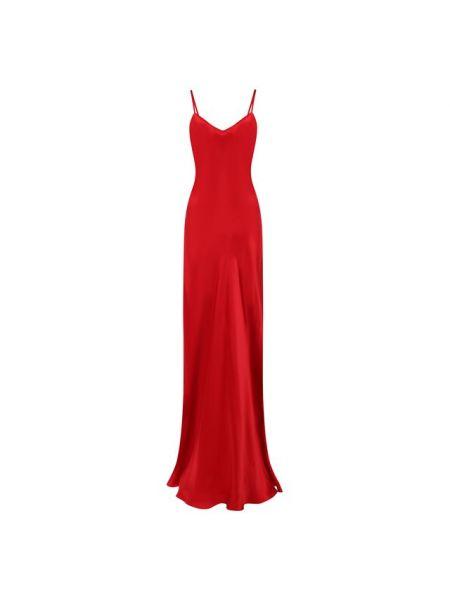 Платье платье-комбинация с V-образным вырезом Ralph Lauren