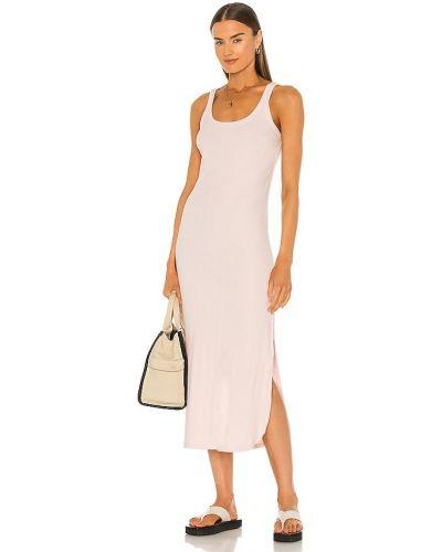 Платье из штапеля - розовое Vitamin A