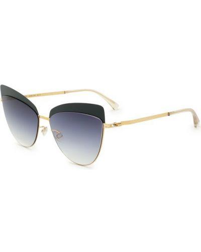 Солнцезащитные очки с градиентом металлические Mykita