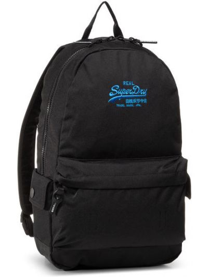 Czarny plecak Superdry