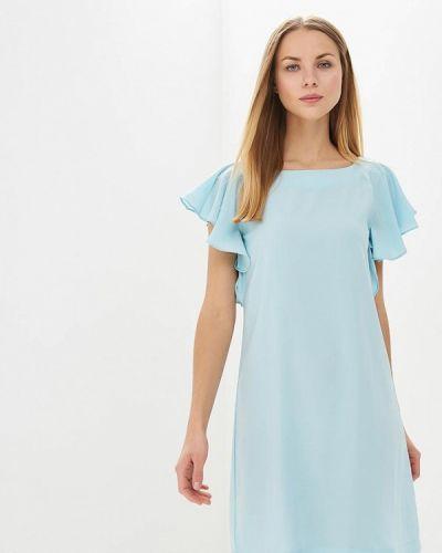 Платье весеннее бирюзовый Sela