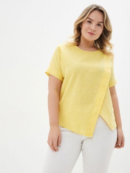 Блузка весенний желтый Gabriela