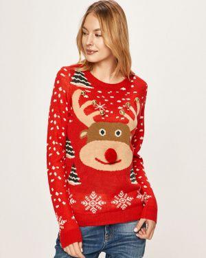 Sweter z aplikacjami z wzorem Vero Moda