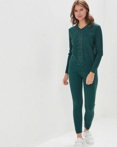 Зеленый костюм вязаный Trendyangel