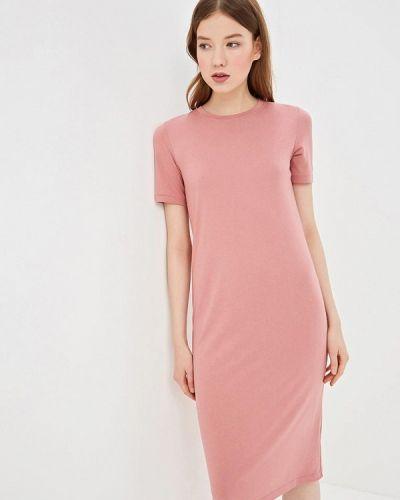 Платье розовое футболка Befree