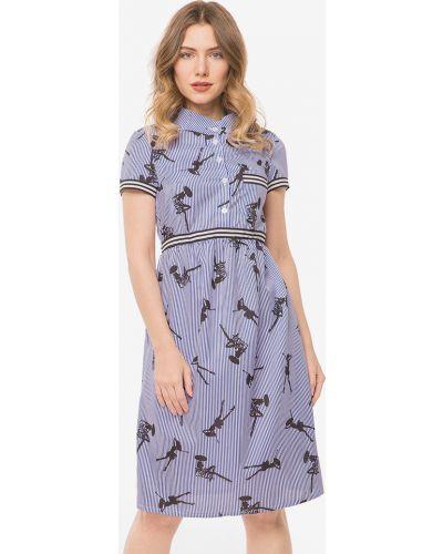 Платье с воротником Modniy Oazis