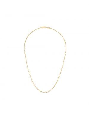 Золотистая желтая цепочка позолоченная Northskull