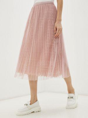 Розовая юбка осенняя Softy