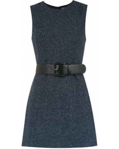 Блузка без рукавов с поясом на молнии НК