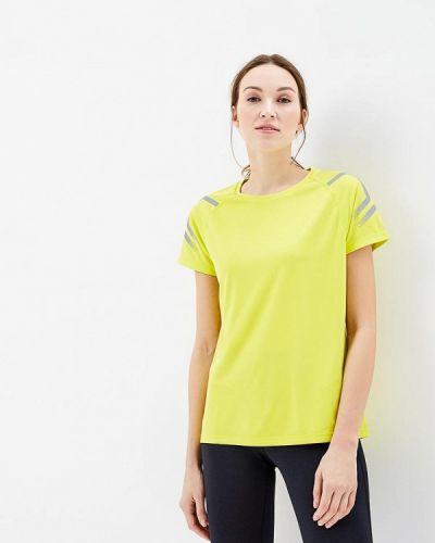 Желтая спортивная футболка Asics