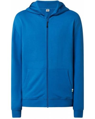 Niebieska bluza rozpinana z kapturem Urban Classics