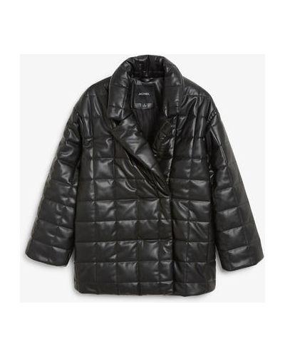 Стеганая куртка - черная Monki