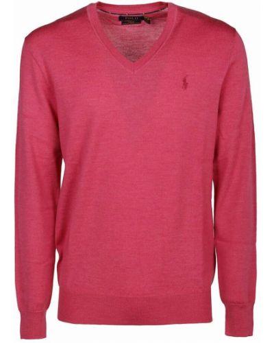 Sweter - różowy Ralph Lauren