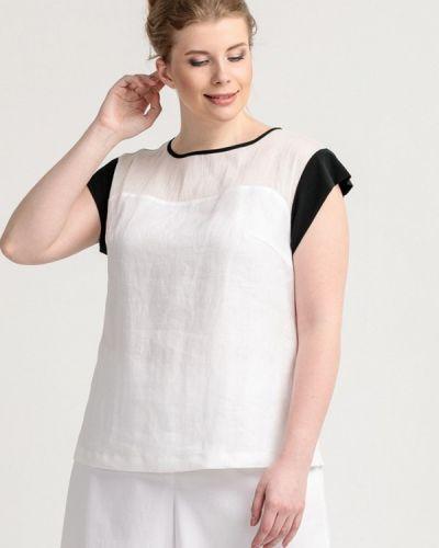 Блузка белая Larro
