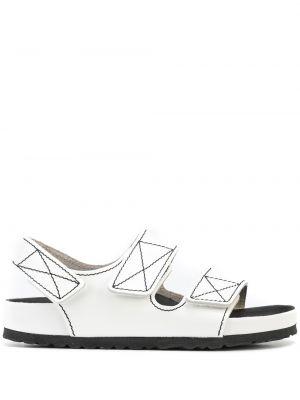 Sandały skórzane - białe Proenza Schouler