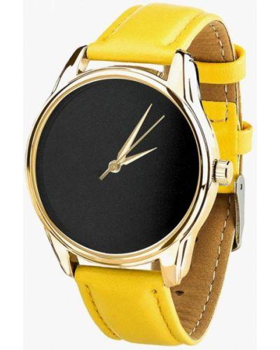 Желтые часы Ziz