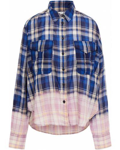 Рубашка с карманами - синяя Rag & Bone
