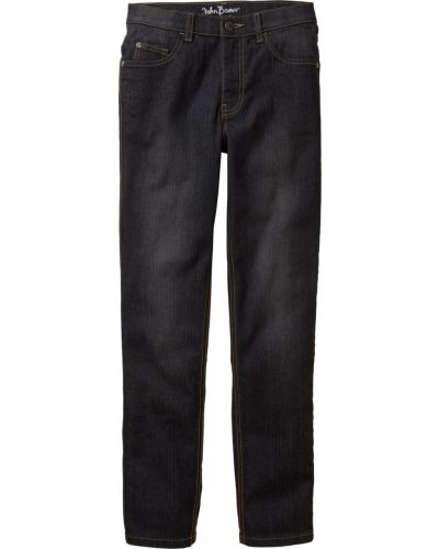 Черные джинсы с карманами Bonprix