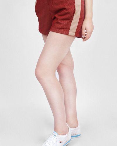 Спортивные шорты бордовый красный Sab