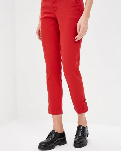 Красные брюки повседневные Liu Jo