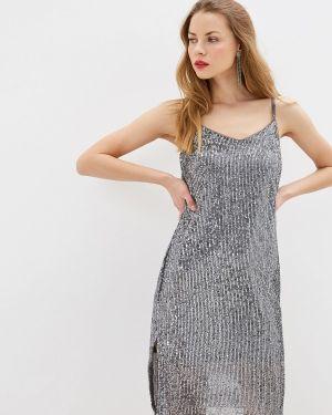 Серебряное платье Zarina