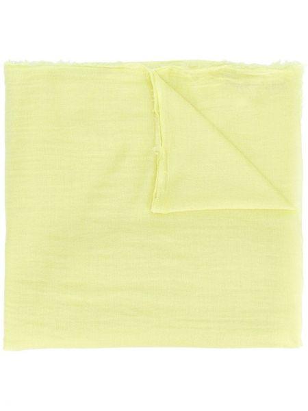 Желтый шарф Rick Owens