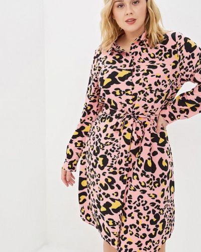 Повседневное платье весеннее розовое Studio Untold
