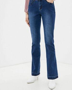 Широкие джинсы расклешенные синие Camomilla Italia