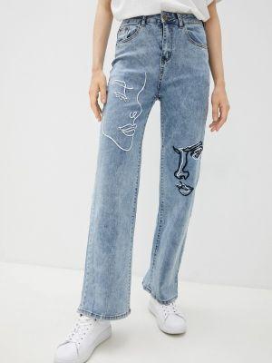 Голубые джинсы Grafinia