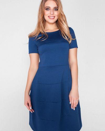 Синее повседневное платье Eliseeva Olesya