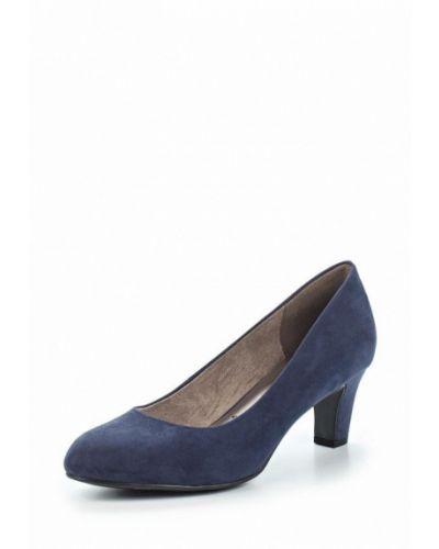 Синие туфли-лодочки Tamaris