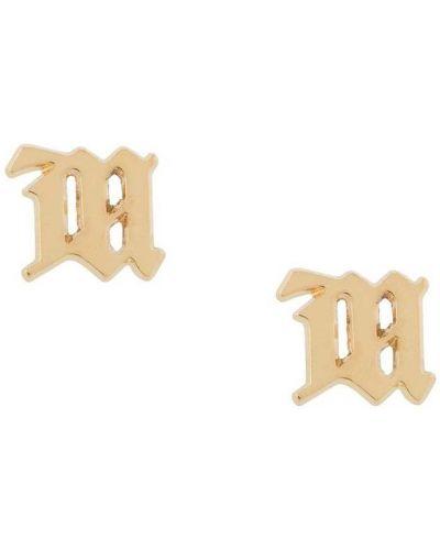 Kolczyki ze sztyftem złoto Misbhv