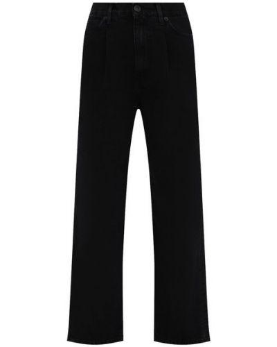Хлопковые джинсы - черные 3x1