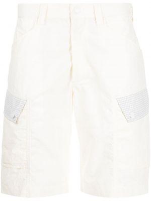Белые шорты из микрофибры Maharishi