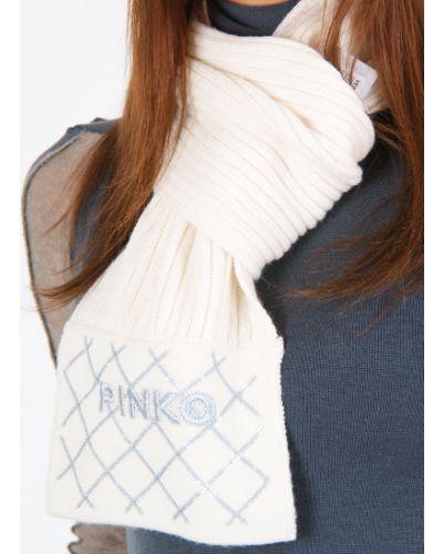 Белый шарф Pinko