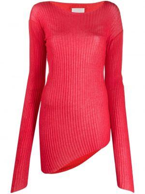 Bawełna bawełna sweter z okrągłym dekoltem z długimi rękawami Maison Margiela