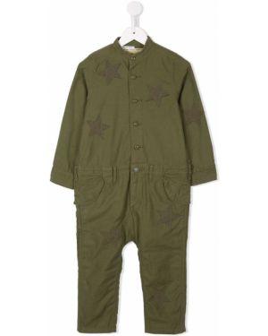 Зеленые брюки Denim Dungaree