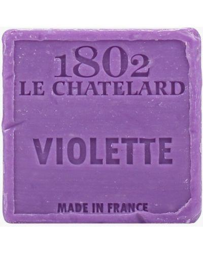 Мыло французское фиолетовый Le Chatelard 1802