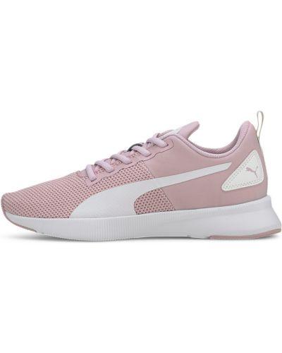 Спортивные розовые кроссовки для бега на шнуровке сетчатые Puma