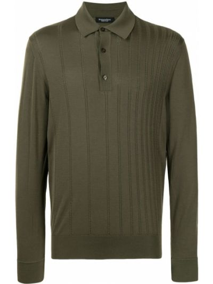 Zielona koszulka bawełniana Stefano Ricci