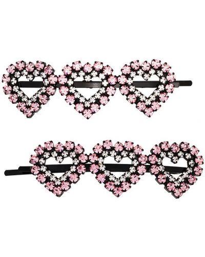 Różowy klipsy z ozdobnym wykończeniem Ashley Williams